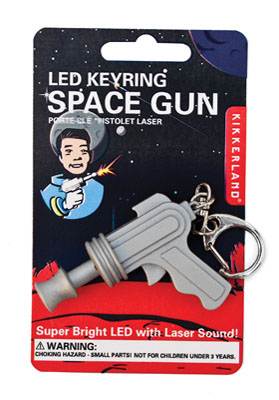 Nyckelring-Led-Spacegun