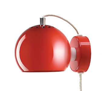 Lampa Ball Vägg Chrome