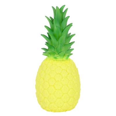 Ananas lampa Gul-Turkos-Orange