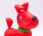 Leksak Retro Röd hund