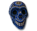 Döskalle, Blue. Huichol Shaman art.