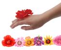 Ring - Blomma med lampa