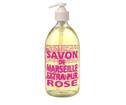 Savon de Marseille glasflaska - Rose