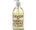 Savon de Marseille glasflaska - Olive Lavendel