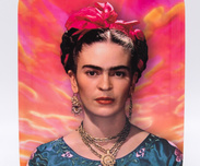 Bricka Frida Kahlo-Pink