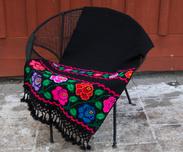 Mexikanska filtar / ponchos / dukar / överkast