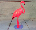 Flamingo rosa nodding head Retro 12cm