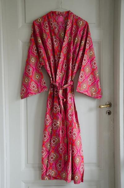 Kimono unisex Red orange