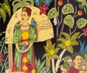 Bricka Frida Kahlo Garden