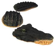 Krokodil Trädgårdsdekoration