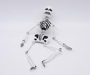 Skelettfigur Vit 30cm Calavera