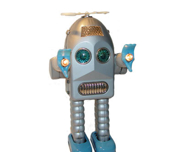 Robot Thunder Silver