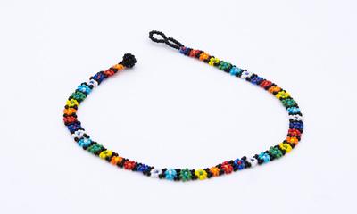 Halsband Huichol Liten pärlbomma