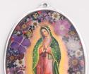Guadalupe dekoration oval 35cm
