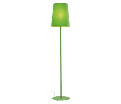 Golvlampa Velvet Rosa/Grön