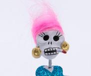 Skelettfigurin Calavera