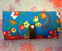 Plånbok L, FlowerBR-recycle