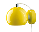Lampa Ball Vgg gul blank
