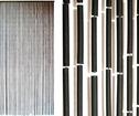 Draperi Svart Bamboo
